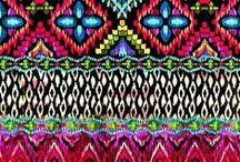 Free Spirit / Bohemian inspired patterns, designs, styles, places and things