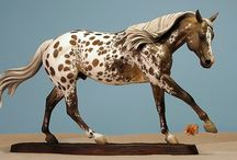 Reining Horse / Traditional scale reining horse (stock horse, quarter horse) sculpted by Sarah Rose www.rosehorse.com