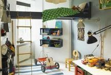 lofts and decorating ideas for Patty and Tess's rooms / Different ideas for lofts and some nice decorating inspiration...