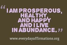 Positivity, JAH blessings! / Affirmations of a positive life,  graciously accepting every blessing.
