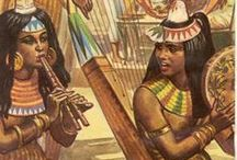 Fashion: Kemet / Fashion from Ancient Egyptian Culture & Inspirations from it.