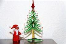 Alberi di Natale / Collezione di Alberi di Natale acquistati nel corso dei nostri viaggi