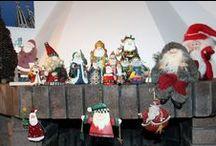 Babbi Natale / raccolta di Babbi Natale acquistati nei nostri viaggi