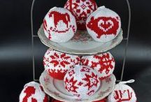 Julekuler made with love by Cattinka
