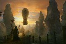 Elfwood Fantasy landscapes / Fantasy artworks by our eminent Elfwood members.