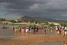 YEMEN - seconda di tre parti / La zona desertica (deserto Ramlat As Sabatayan) e il Sud