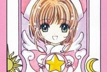 Cardcaptor Sakura - Bookmarks / Bonus cards created by CLAMP. Each card came as a bookmark on each volume of the tankoubon version (collector's manga).