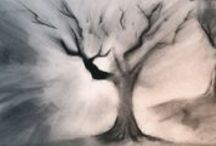 Paintbrush &  Pencils / Pencil Drawings,  Paintings,  Tutorials  and  Training tips