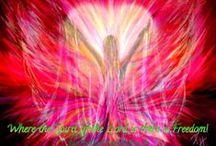 Prophetic Art Paintings / Colorful Prophetic Art! Beautiful paintings about Holy Spirit, God, Jesus, worship, praise, love, angels, Lion of Judah, warrior bride and love.