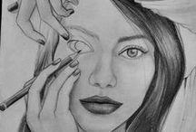 Drawings / jak tohle někdo dokáže nakreslit?