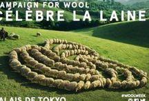 Campaign for Wool / #woolweek / by BRUN DE VIAN TIRAN