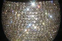 "Glitz & Glamor / "" Bling Bling ""      -     Anything sparkling and Shiny   -   Polished Gemstones /  Glitter  /  Diamonds &  Pearls"