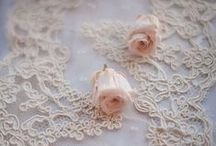 Shabby Chick  &  Vintage / Roses, Lace, Silk,  Satin, Pearls, Ribbons, Feathers,  Fur & Frills