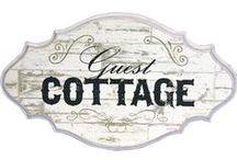 Cozy Cottages / Farmhouse Cottages  &  Beach Cottages ---  Styles & Decor