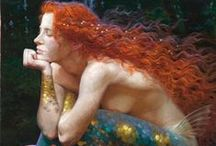 Mermaids / Mermaid art from every corner of the earth, and beyond.