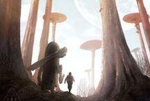 Fantasy landscapes / Fantasy landscapes we love on Pinterest
