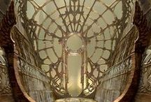 Fantasy buildings / Excuisite buildings we found on Pinterest
