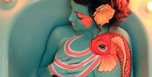Body painting / Bringing body painting in the highest level of artistry.