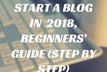 How to Start Blogging / Start a blog and earn money fast on the Internet. Journey to Blogging with Blogging Nerd.