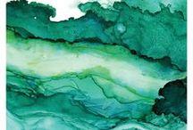 // GREEN // / Respect, bienveillance, partage...le vert envois de bonnes ondes et nous rapproche de la nature.