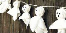 DIY Halloween / voici plusieurs idées de DIY pour Halloween aussi bien décoratives que mangeables