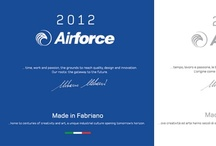 Airforce Made in Fabriano 2012 / Home to poets, artists, scholars, musicians and saints, Fabriano has become famous all over the world thanks to the knowledge of these talented people. Creativity, art and talent are the essence of our products and this essence has always turned them into real masterpieces. They will show you the excellence and originality of the Made in Fabriano philosophy.