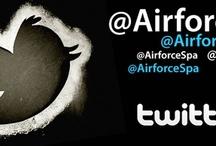 Airforce News / Seguici su www.airforcespa.it Follow Us on www.airforcespa.it/  Comunichiamo inoltre il nostro prodotto  attraverso i social network:  @AirforceSpa su #Twitter e #Pinterest  We communicate our product through social networks: @AirforceSpa on #Twitter or #Pinterest