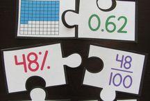 Math activities / Staff clasroom activity