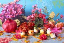 tableau floral / compositions florales et picturales
