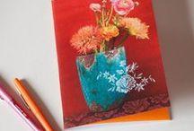 papeterie / cartes postales, cartes de voeux, guirlandes papier