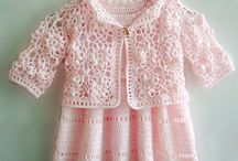 Baby  girl s crochet / by Rivera Gisele