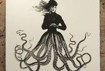 Half octopus half human - photo#9