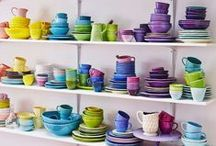 PORCELAIN AND DISHES