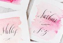 HANDLETTERING / Ideas and Tutorials // Handlettering