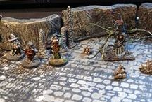 D&D terrain / Handcrafted modular tiles and game mats for Dungeons&dragons