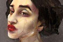Portrets / portretten kunst