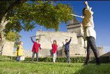 Animations médiévales au château de Castelnaud / Explorez l'Histoire au château de Castelnaud!