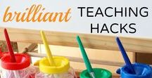 Classroom/Homeschool Organization Ideas & Hacks / Great #Classroom #Organization Ideas, tips, hacks for teachers and homeschoolers #homeschool