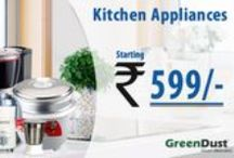 Kitchen Appliances / Kitchen Appliances help in making our kitchen work easy, convenient and hassle free. Now make your kitchen modern and reduce your kitchen work load with our spectacular gamut of Kitchen Appliances only at GreenDust.com