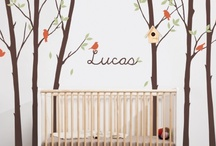 Baby Room Wall Stickers / by Kids Bedroom Decorating Ideas