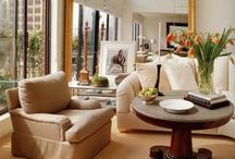 Chic Living Rooms / Living never looked so chic.