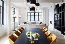 Dining Room Inspiration / Stylish dining inspiration for every lifestyle.