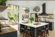 Kitchen / Chic cooking spaces to indulge your culinary genius.