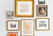 Glorious Gallery Walls / The gallery wall and all that inspires it.
