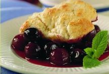 National Cherry Cobbler Day / Recipes inspired by cherry cobbler just in time for National Cherry Cobbler Day, May 17.
