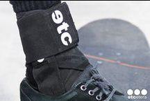 Ankle Stabilizer/Brace / Etcetera Ankle Stabilizer/Brace - Fully skateable, adjustable, lace up ankle stabilizer