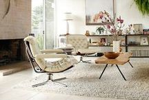 Mid-Century Modern / We're enamored with Mid-Century design. Here's a collection of some our favorite furnishings, living rooms, and dining rooms.