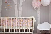 Nursery Ideas - Gray / by Kids Bedroom Decorating Ideas