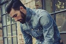 Men's Denim Style / Brand ID Ideas for In-store and Events