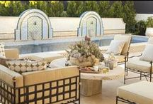 Outdoor Inspiration / Create your dream outdoor space. Find your pieces at Viyet.